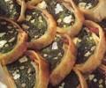 Beyaz peynirli ıspanaklı rulo börek tarifi