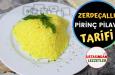 Zerdeçallı pilav tarifi ve malzemeleri – Pirinç pilavına zerdeçal konur mu – Sarı pirinç pilavı nasıl yapılır