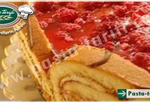 Ahududulu Yaş Pasta