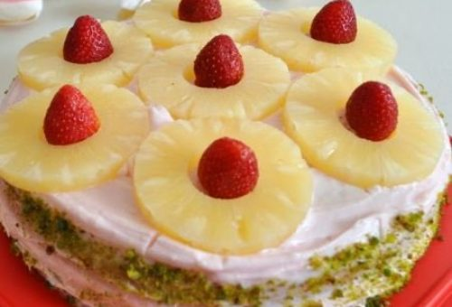 Ananaslı Pasta Tarifi