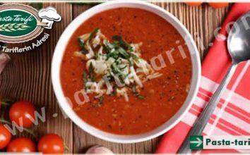 Baharatlı Sebzeli Domates Çorbası