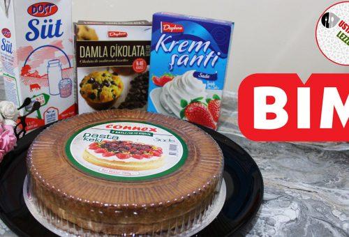 Bim Malzemeleri ile Yaş Pasta Yaptık Sonuç Muhteşem