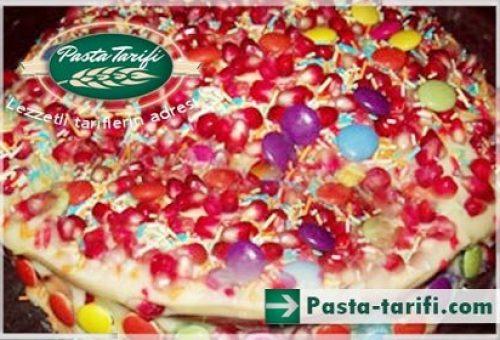 Bonibonlu Narlı Pasta Tarifi
