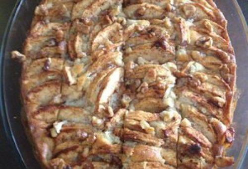 Cevizli Elmalı Kek Tarifi