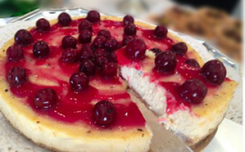 Vişneli cheese cake