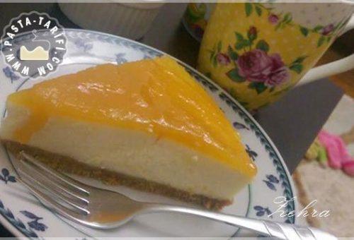 Şeftalili Çizkek (Cheesecake)