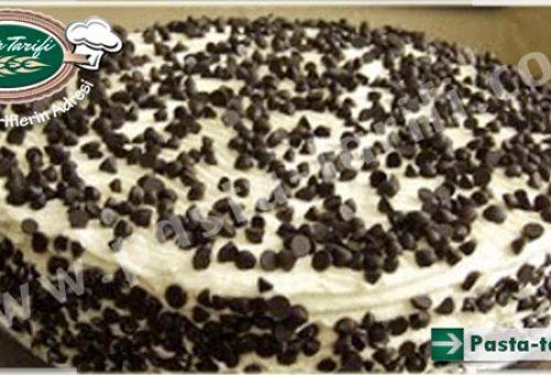 Vanilyalı Damla Çikolatalı Pasta