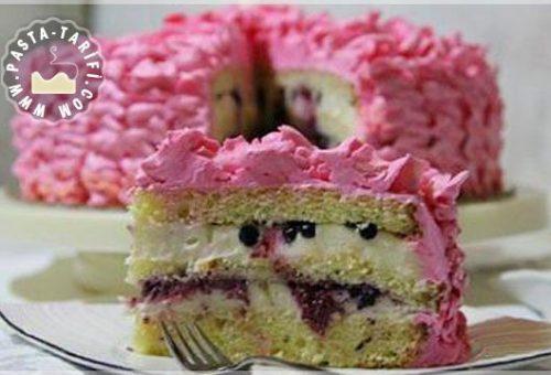 Fırfırlı Doğum Günü Pastası