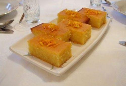 Portakallı Revani Tatlısı Tarifi