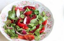 Erikli Semizotlu Salata