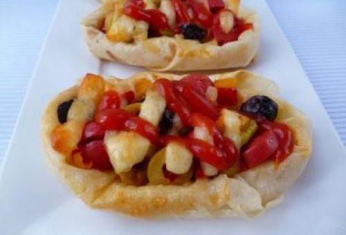 Ev yapımı Pizza Börek Tarifi