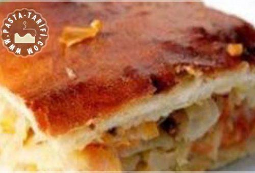 Kıymalı Havuçlu Börek tarifi