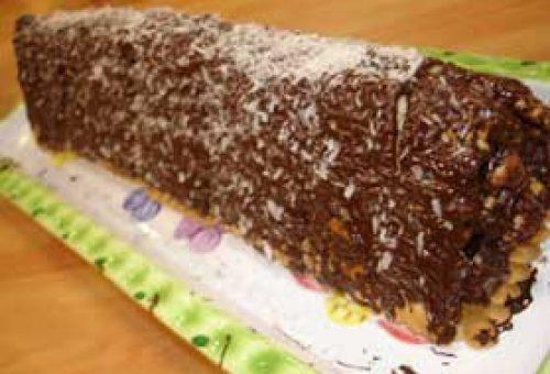 İncirli  Kayısılı Bisküvi Pasta Tarifi