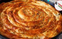 El Açması Yufka ile Ispanaklı Börek Tarifi /  Ispanaklı börek nasıl yapılır