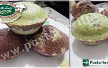 Ispanaklı Kakaolu Muffin Kek