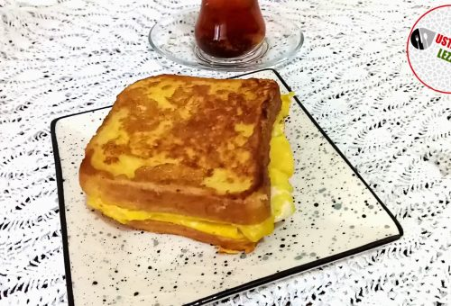 Yumurtalı Ekmek Nasıl Yapılır / EN HAFİF YUMURTALI EKMEK TARIFİ/ Kahvaltılık Tarifler