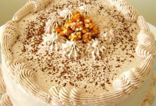 Kahve Kremalı Pasta Tarifi