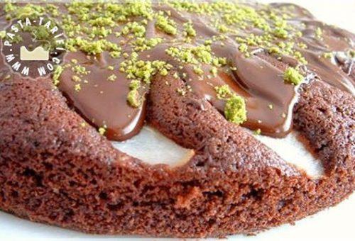 Kestaneli Armutlu Çikolatalı Kek