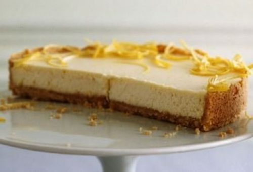 Kolay Limonlu Cheesecake Tarifi