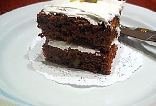 Krem Şantili Elmalı Pasta Tarifi
