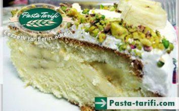 Sade Kremalı Muzlu Pasta