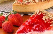 Çilek Kremalı Pasta