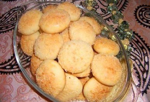 Portakallı Hindistan Cevizli Kurabiye Tarifi