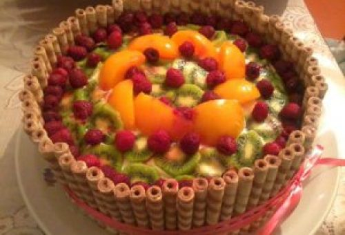 Meyveli Pasta Sepeti Tarifi