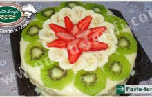 Meyve Şölenli Doğum Günü Pastası Tarifi