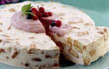 Meyveli Yoğurtlu Pasta
