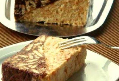 İki Renkli Mozaik Pasta Tarifi