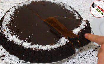 Muzlu Çikolatalı Muhteşem Pasta Tarifi