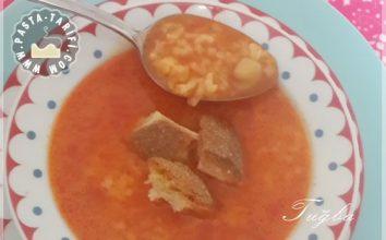 Nohutlu Pirinç Çorbası