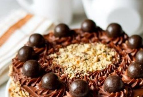 Fındıklı Çikolatalı Pasta Tarifi