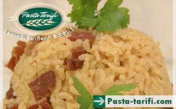 Pastırmalı Pirinç Pilavı