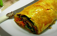 Pastırmalı Ispanaklı Börek Tarifi