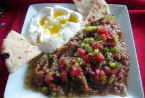 Nar Eksili Patlican Salatası Tarifi