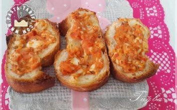 Peynirli Kıtır Ekmek