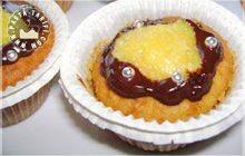 Portakallı Çikolatalı Muffin
