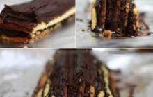 Çikolatalı Pramit Pasta