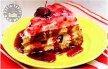 Pratik Kirazlı Pasta Tarifi