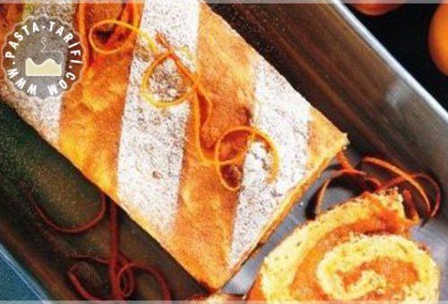 Kayısılı Ve Portakallı Rulo Pasta Tarifi