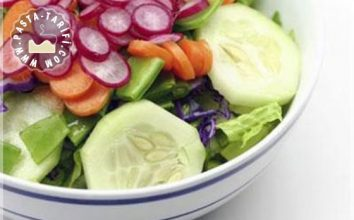 Vejetaryen Salatası Tarifi