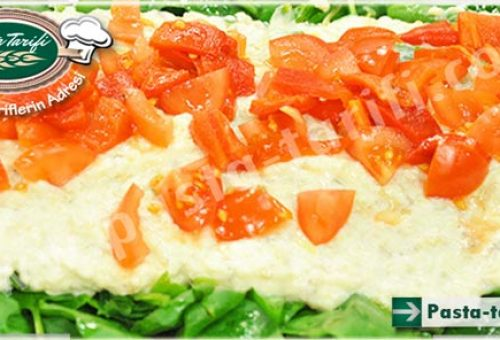 Yoğurtlu Patlıcan Salatası Yapılışı