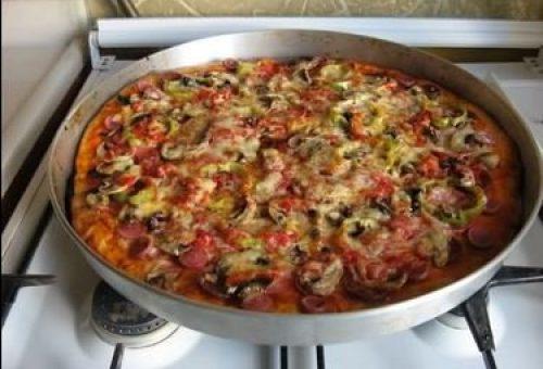 Yufkalı Pizza