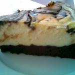 Çikolatalı Brownieli  Cheesecake