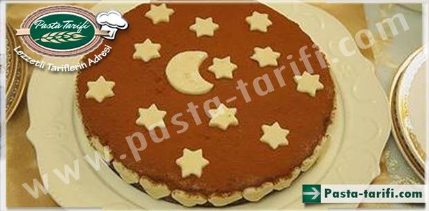 Badem Ezmeli Çikolatalı Pasta Tarifi
