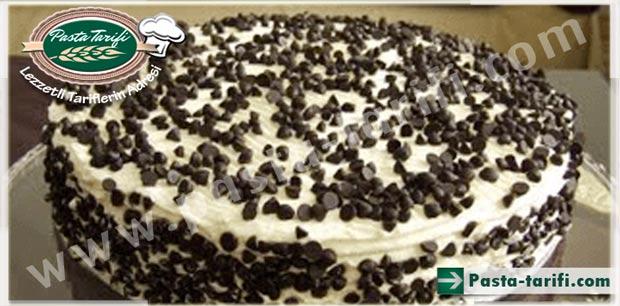 Damla çikolatalı pasta tarifi