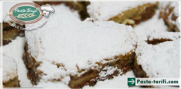 Elmalı bisküvi tarifi