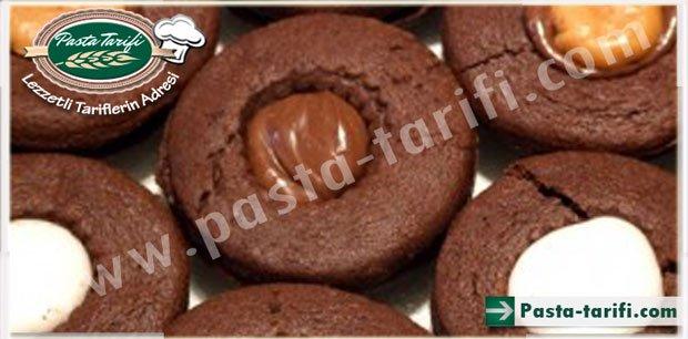 Çikolatalı Karamelli Kurabiye Tarifi